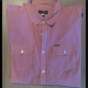 Men's Pattern 2 Pocket Button Down